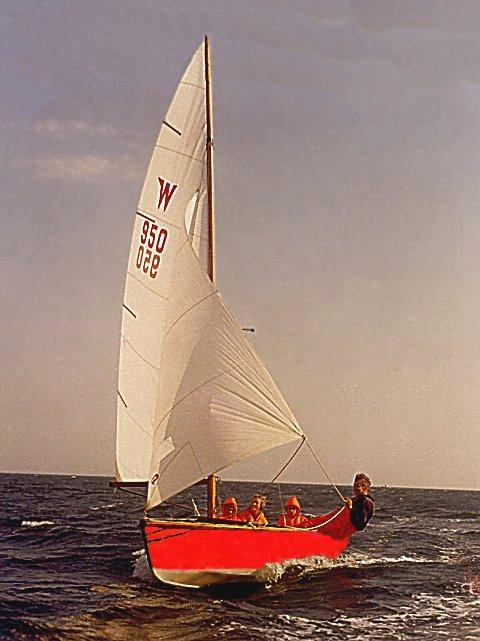 W 950, som den oprindeligt så ud.
